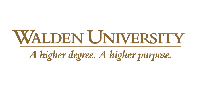 Walden University logo slogan